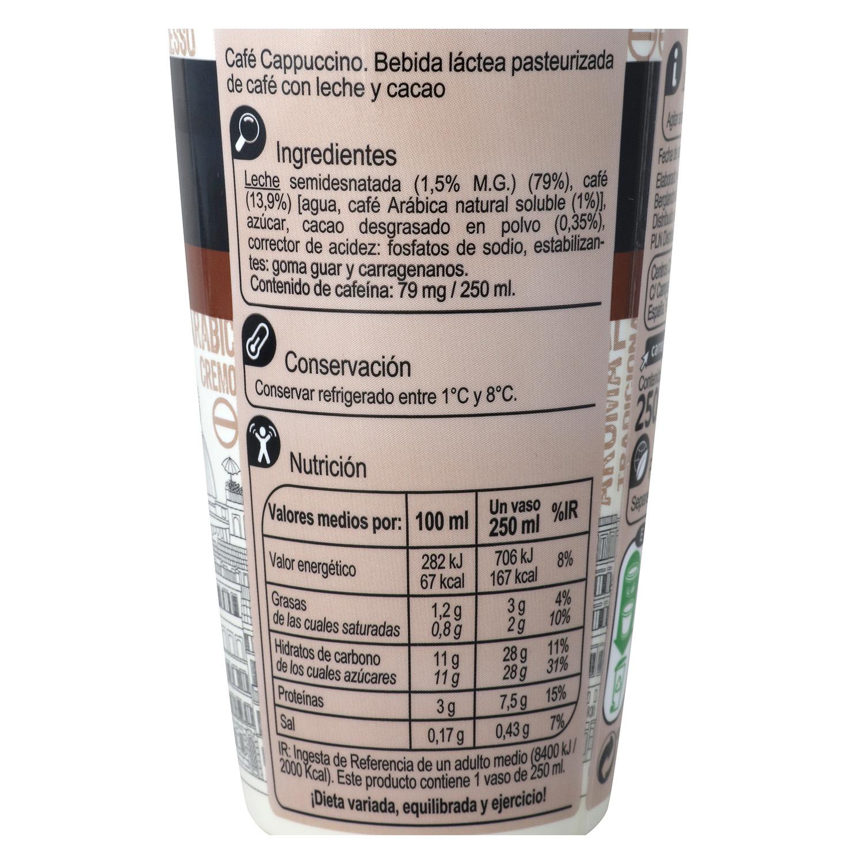 Café latte capuccino sin gluten - 2