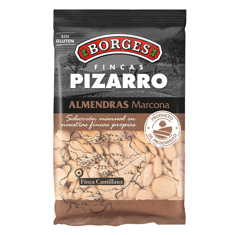 Almendras marcona Borges sin gluten 200 g.