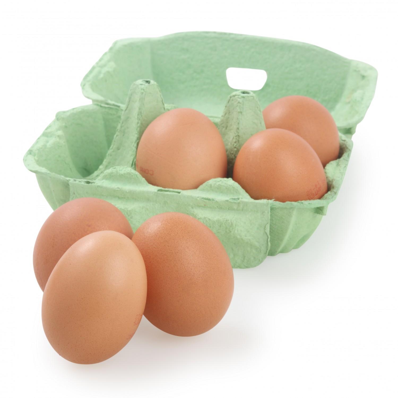 Huevos M-L Carrefour Bio 6 ud. - 2