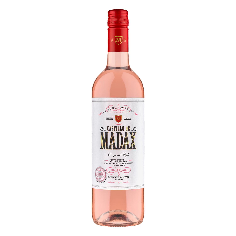 Vino D.O. Jumilla rosado Castillo de Madax 75 cl.