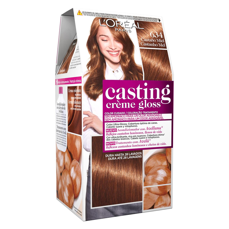 Tinte Créme Gloss nº 634 Castaño Miel L'Oréal Casting 1 ud.