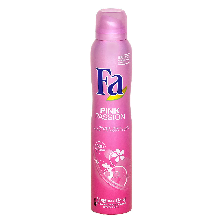 Desodorante Pink Passion spray