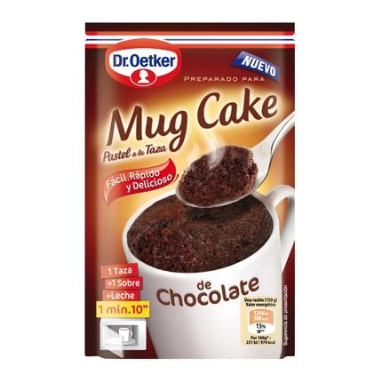 Pastel a la taza de chocolate Mug Cake