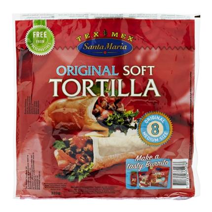 Tortilla para burritos