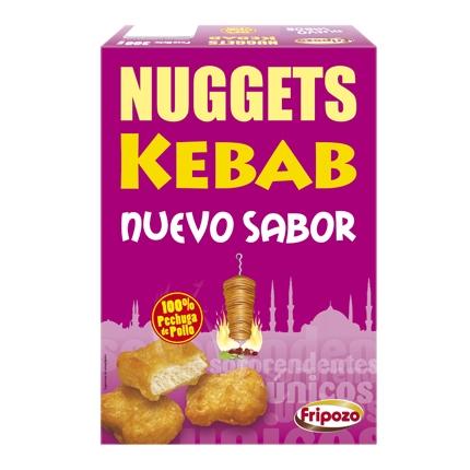 Nuggets kebab