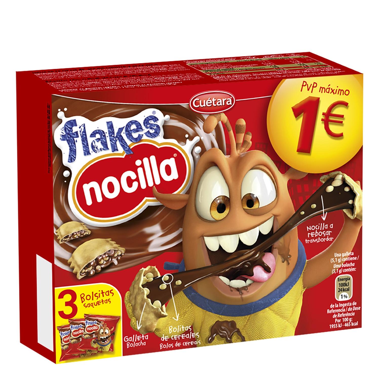 Galletas con cereales y chocolate