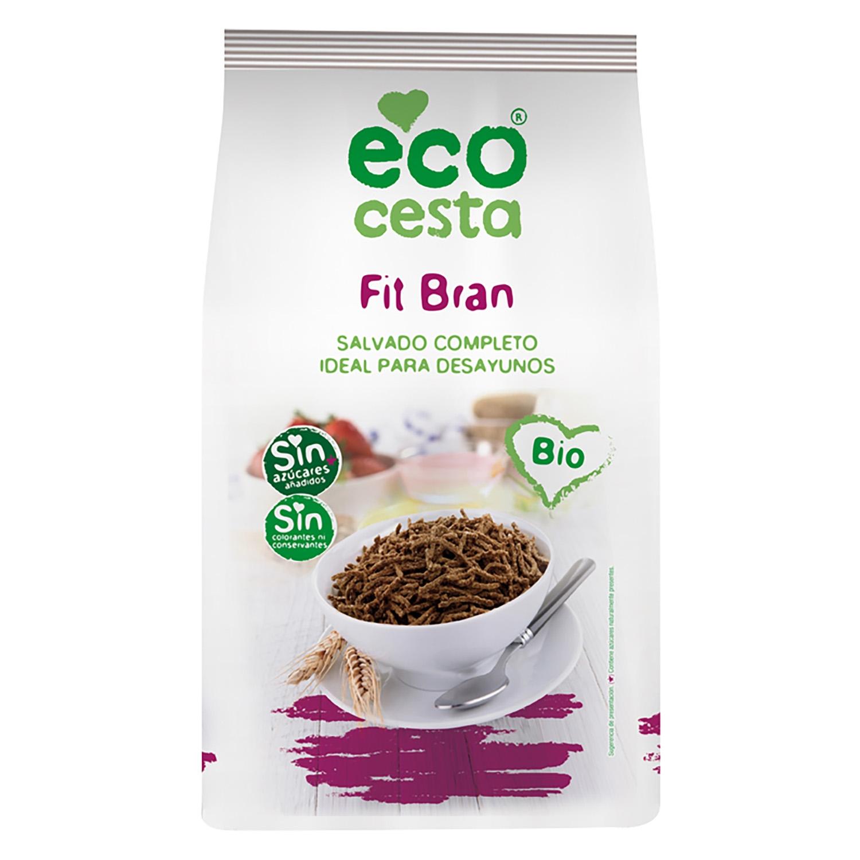 Cereales de fibra ecológicos Ecocesta 450 g.