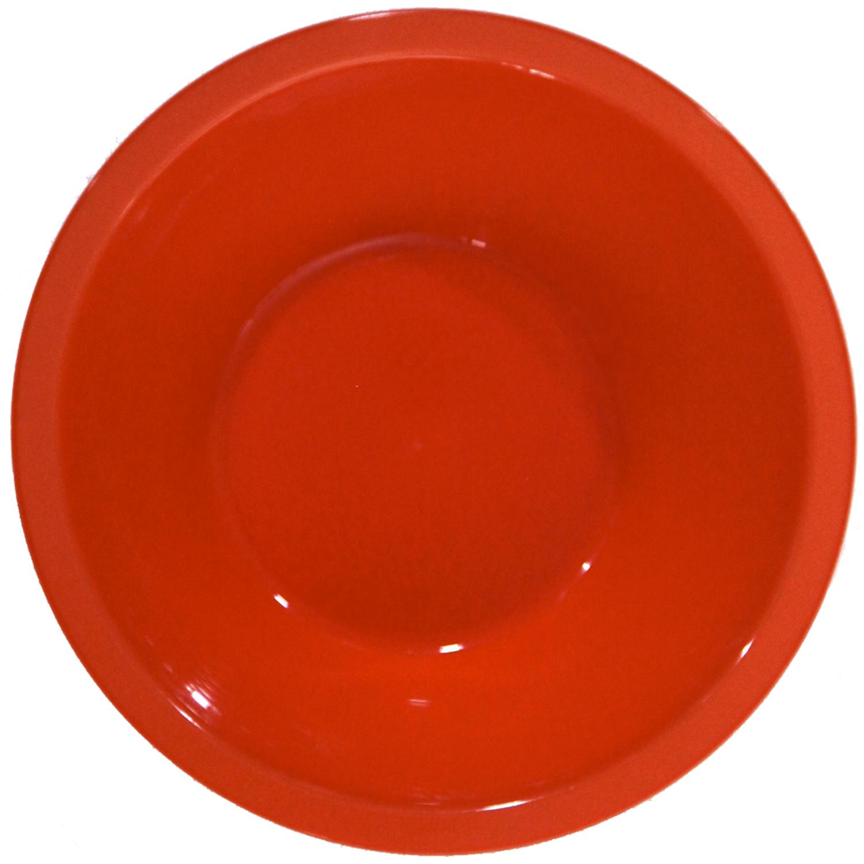 Cuencos redondos Plastico  Rojo