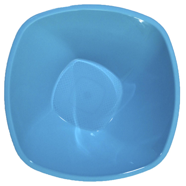 Ensaladeras  cuadradas Plastico  Azul