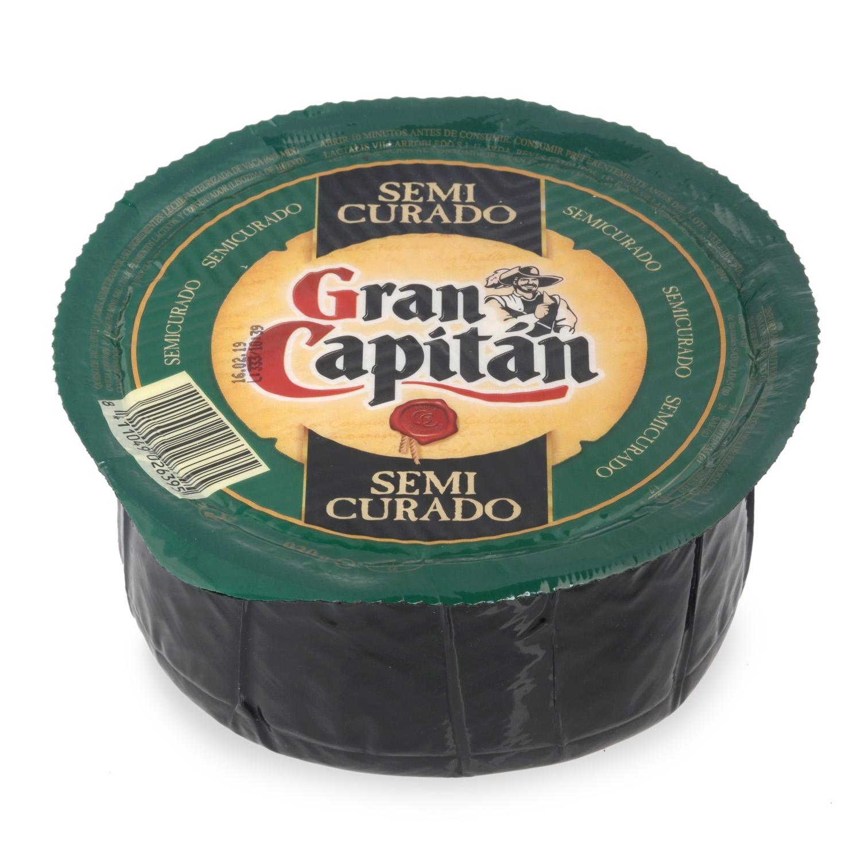 Queso semicurado mezcla Gran Capitán pieza 930 g