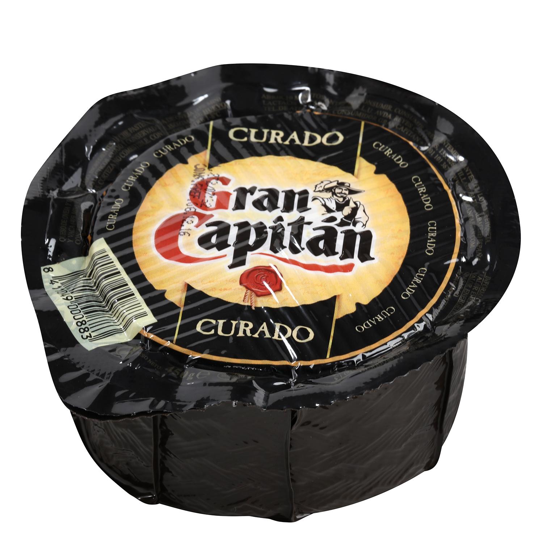 Queso curado mezcla mini Gran Capitán pieza de 450 g -