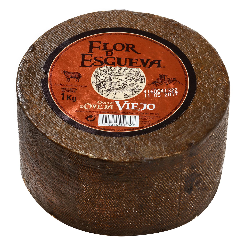 Queso puro de oveja viejo graso mini Flor de Esgueva pieza 1 Kg