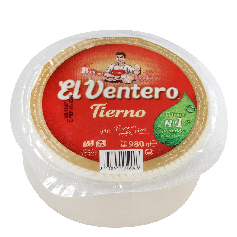 Queso tierno El Ventero 980 g -
