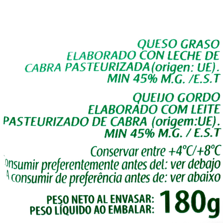 Queso rulo de cabra Sant Maure 180 g - 4