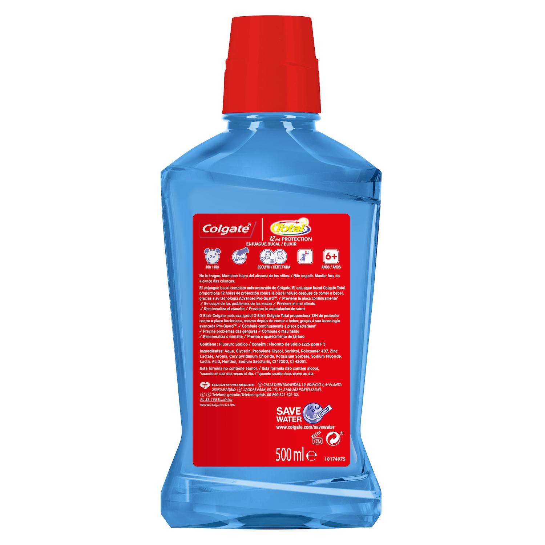 Enjuague bucal Total protección contra la placa bacteriana -