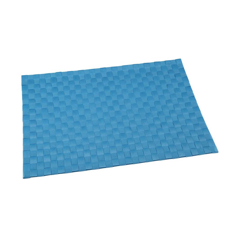 Mantel Individual Cuadrado de Poliester RENBERG 45x30cm - Azul