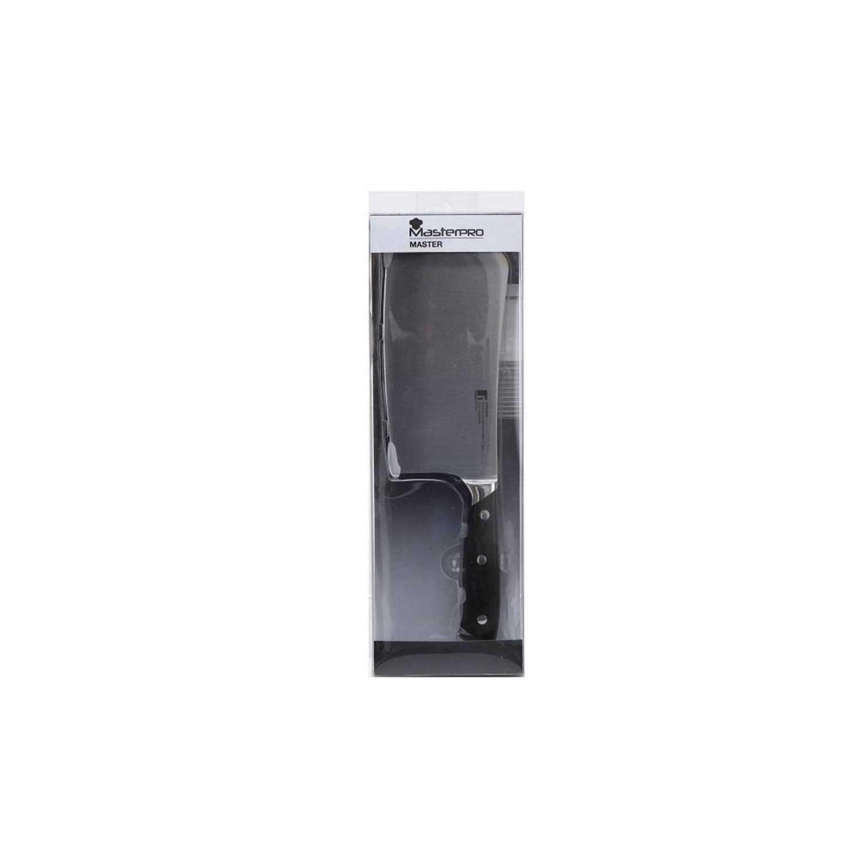 Macheta Carnicero de Acero inoxidable Master 17,5 cm Negro -