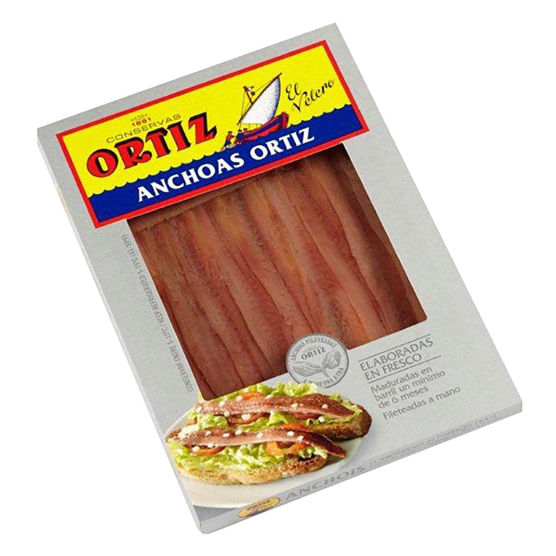 Filetes de anchoa en aceite vegetal