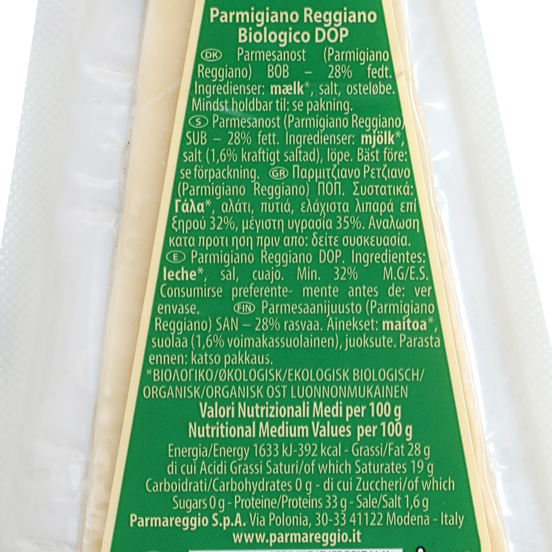 Queso parmigiano reggiano ecológico D.O.P. Parmareggio 150 g - 2