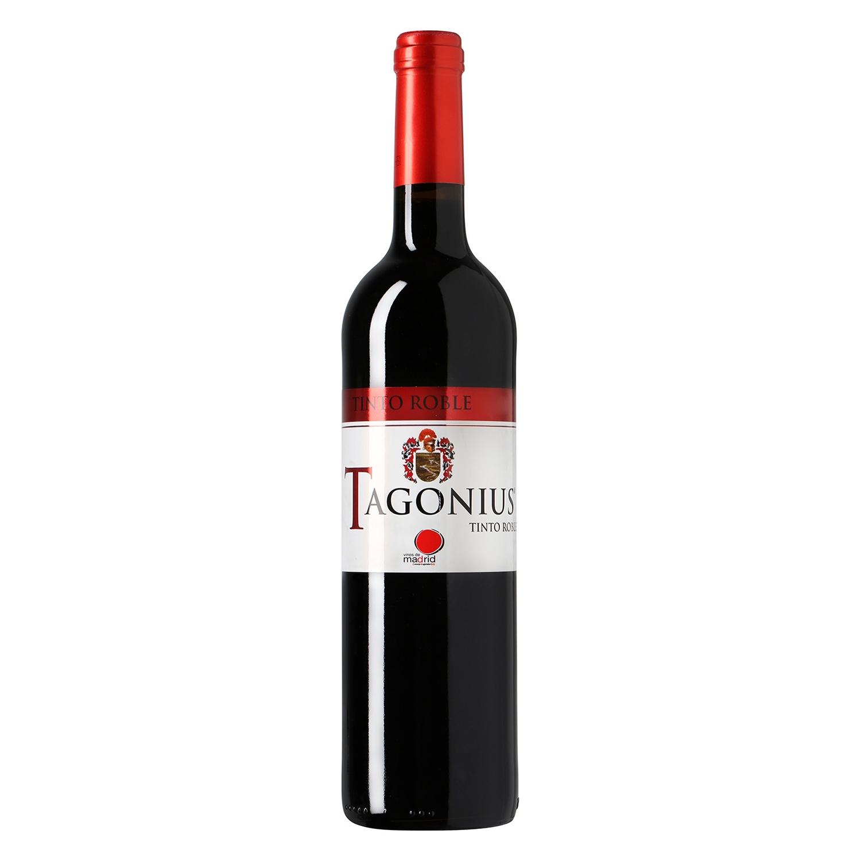 Vino D.O. Madrid tinto roble Tagonius 75 cl.