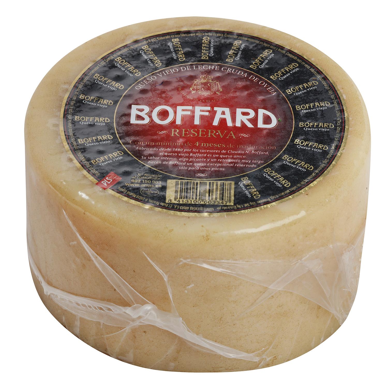 Queso puro de oveja graso reserva mini Boffard pieza 1 Kg -