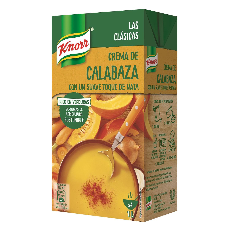 Crema de calabaza Knorr 1 l.