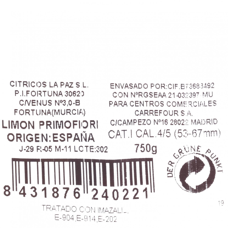Limón Carrefour bolsa 750 grs - 3