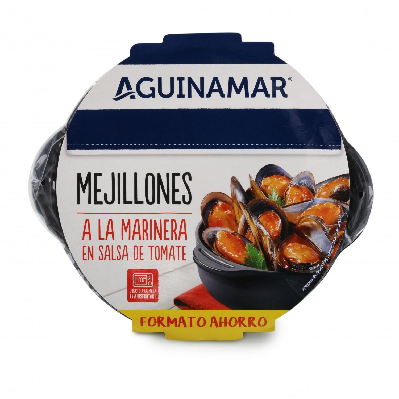Mejillón en salsa de tomate Aguinamar 800 g