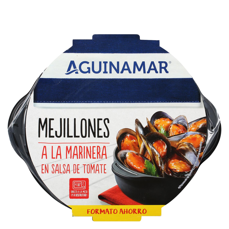 Mejillón en salsa de tomate Aguinamar 800 g - 2