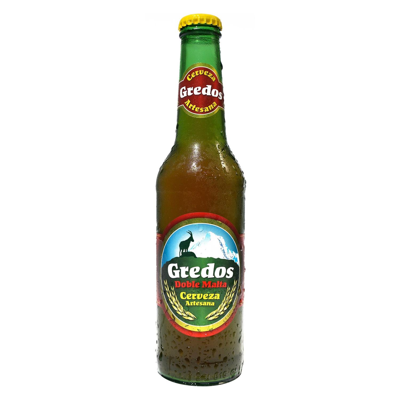 Cerveza artesana Gredos Doble Malta botella 33 cl.