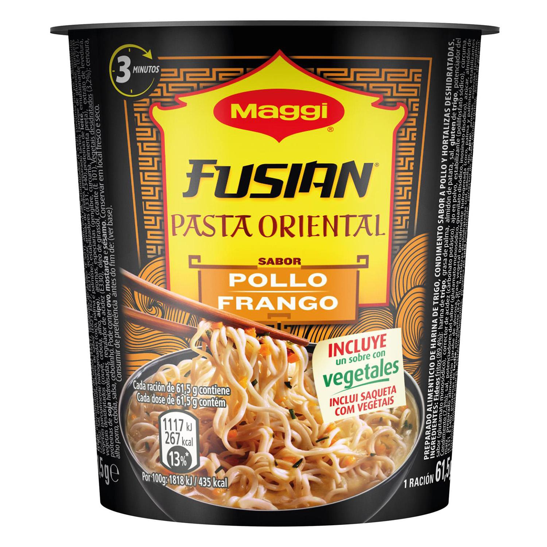 Pasta oriental de pollo Fusian Maggi 61,5 g.