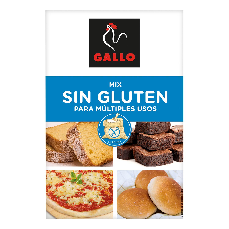 Harina para múltiples usos Gallo sin gluten 500 g.