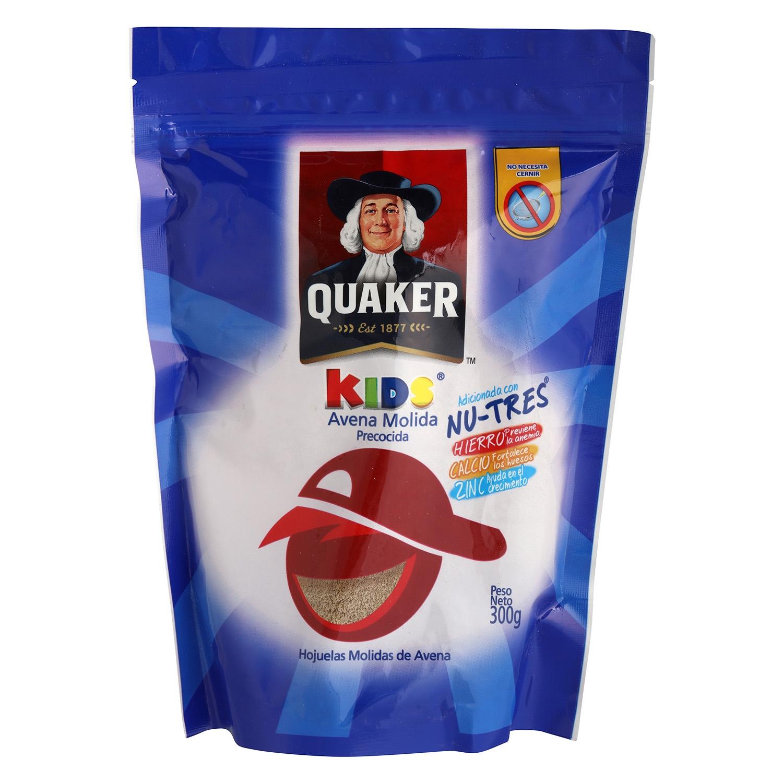 Avena molida Kids Quaker 300 g.