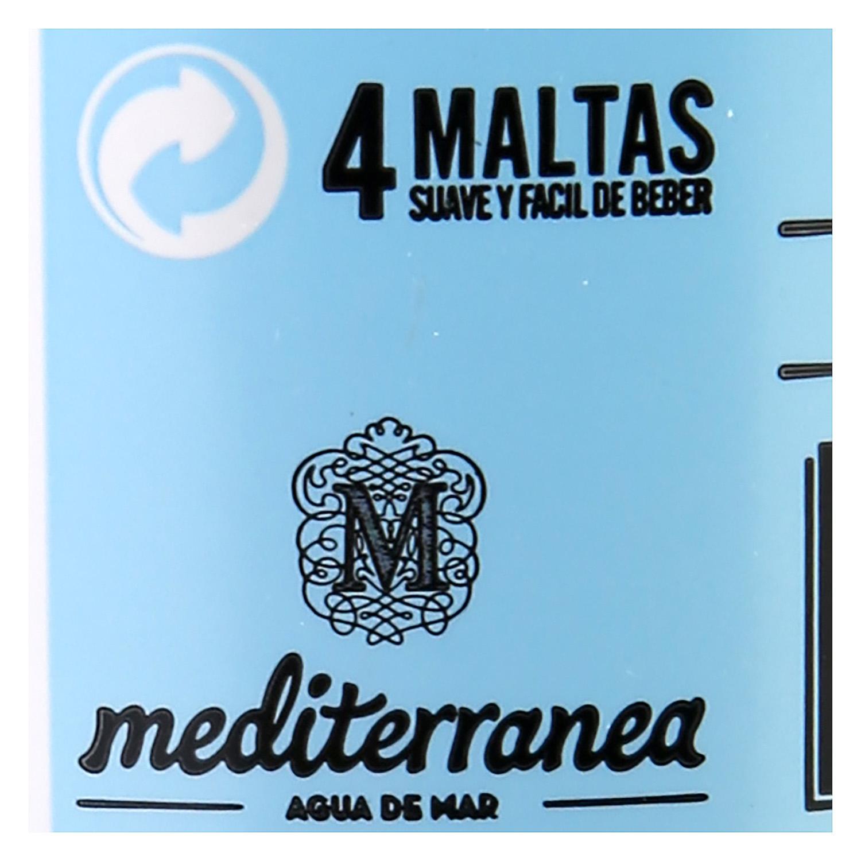 Cerveza artesana Er Boquerón con Agua de Mar botella 33 cl. -