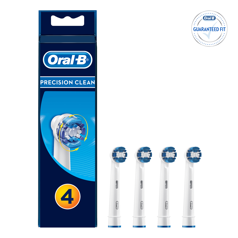 Recambio cepillo dental eléctrico Precision Clean Oral-B 4 ud. -