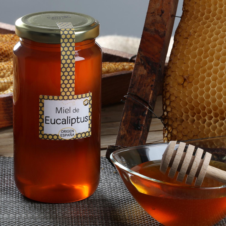 Miel artesana de eucaliptus
