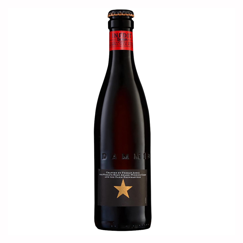 Cerveza Inedit Damm malta botella 33 cl.