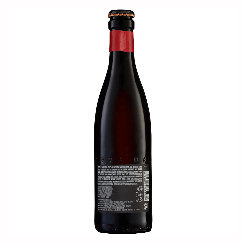 Cerveza Inedit Damm malta botella 33 cl. -