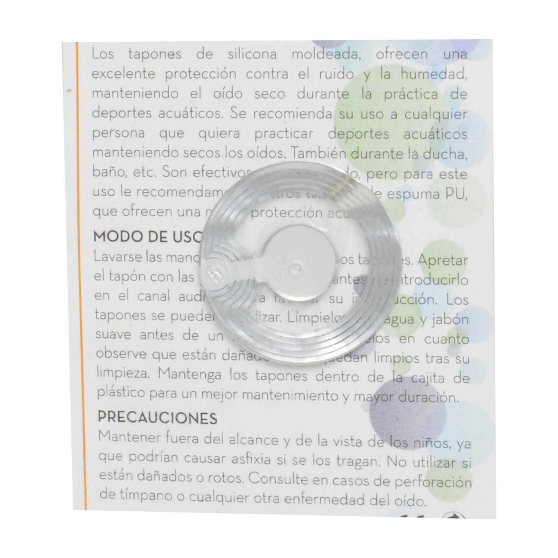 Protectores auditivos de silicona moldeada - 2