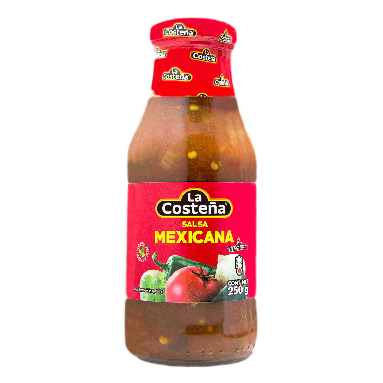 Salsa mexicana casera La Costeña botella 250 g.