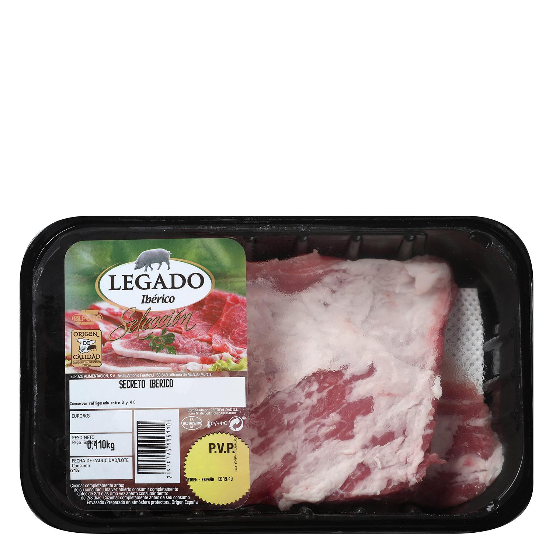 Secreto de Cerdo Ibérico Legado El Pozo 400 g aprox -