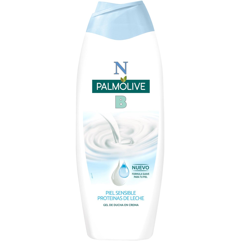 Gel de ducha en crema hidratante con proteínas de leche NB Palmolive 600 ml.