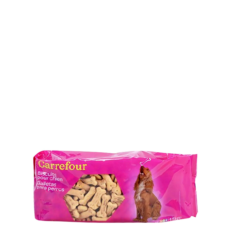 Galletas para Perros 1,5Kg, Carrefour -