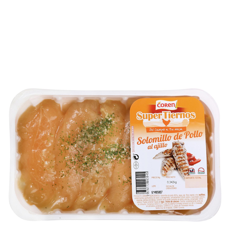 Solomillo de Pollo Marinado Coren 300 g aprox -