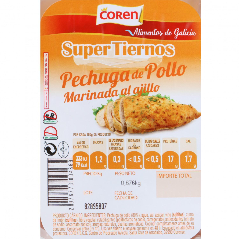 Pechuga de Pollo Marinada Coren 400 g aprox - 3