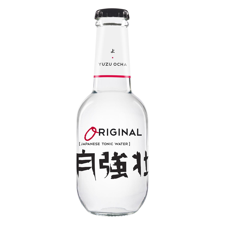 Tónica Original Yuzu Ocha japonesa botella 20 cl.