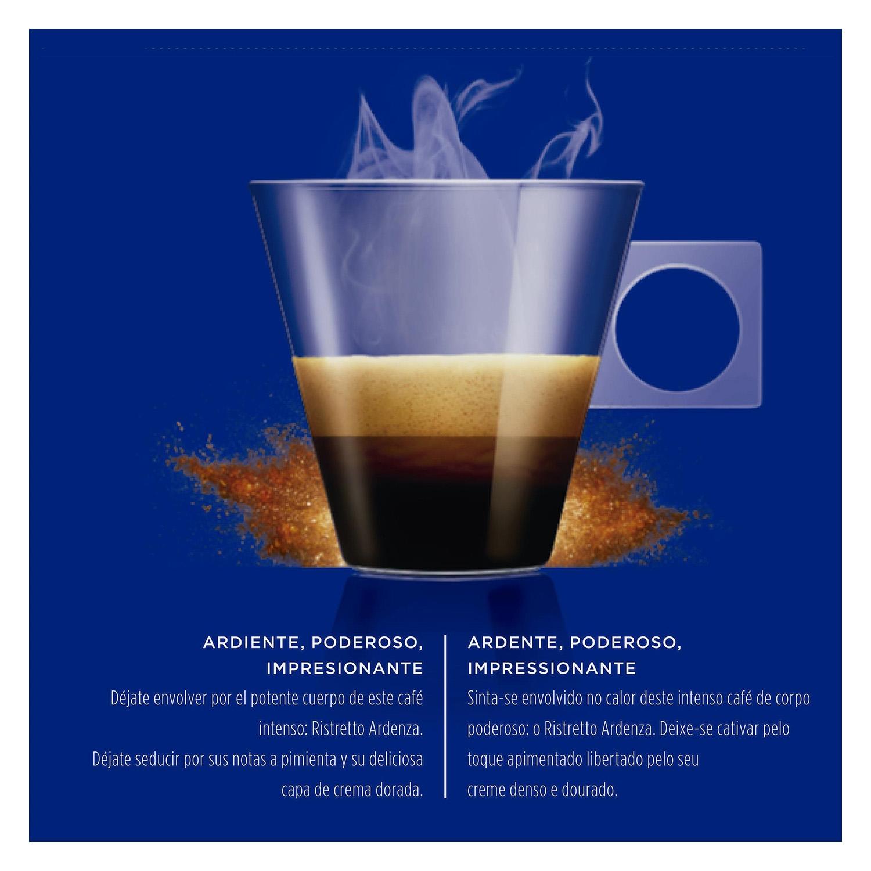 Café ristretto ardenza en cápsulas Nescafé Dolce Gusto 16 unidades de 7 g. - 2