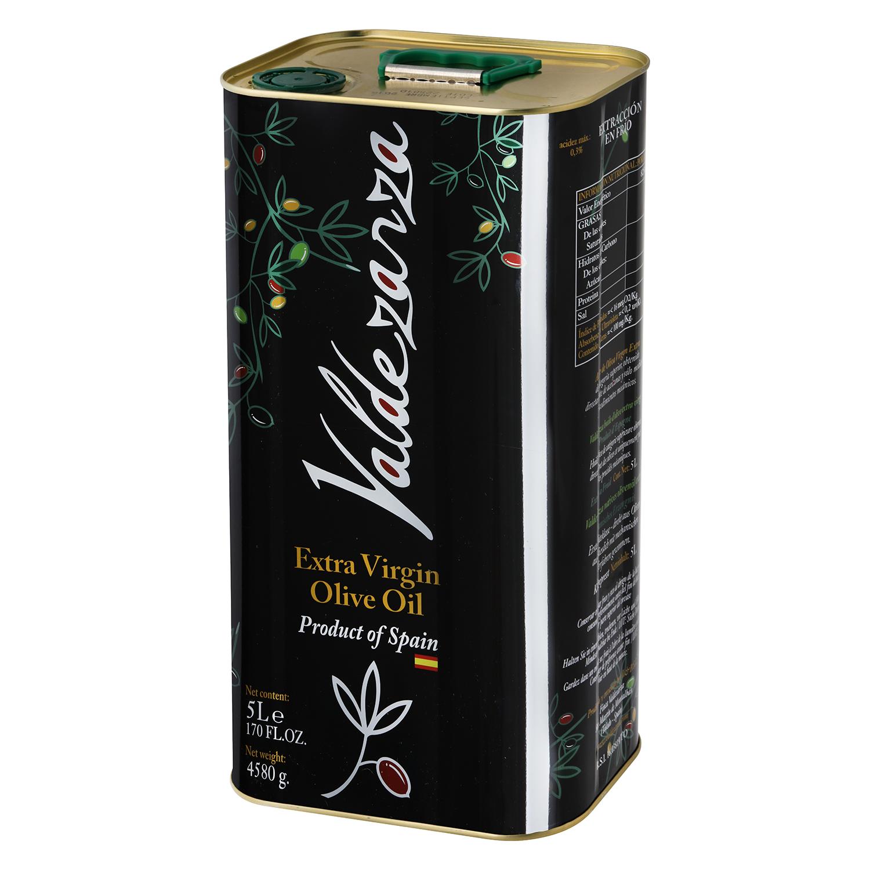 Aceite de oliva virgen extra Valdezarza lata 5 l.