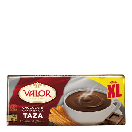 Chocolate a la taza Valor 350 g.
