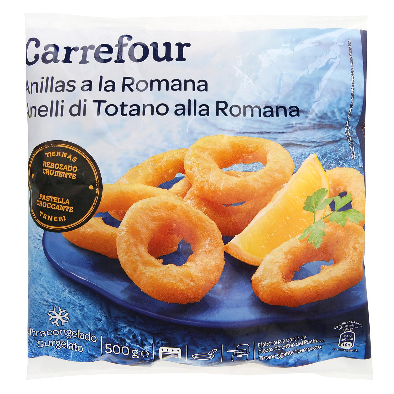 Anillas a la romana Carrefour 500 g.